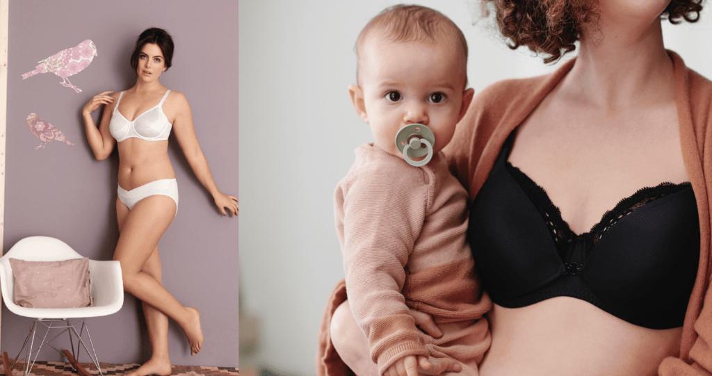 Lingerie bij zwangerschap of borstvoeding